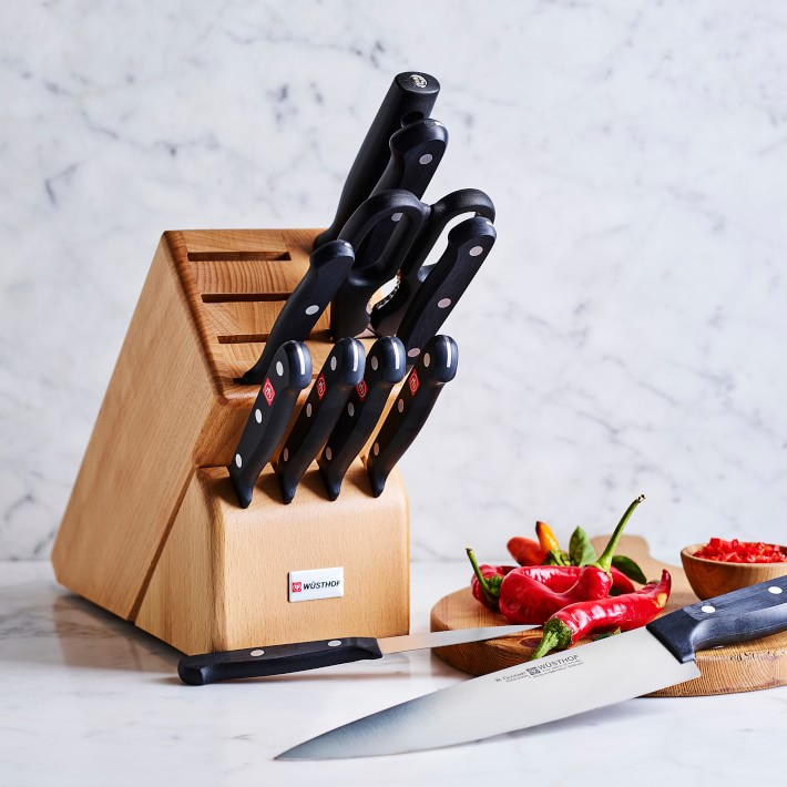 Wusthof Gourmet 12 piece knife block set