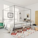 Marion+Canopy+Bed