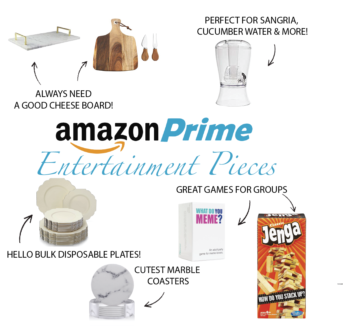 Instagram Post - Amazon Prime- Entertainment Pieces